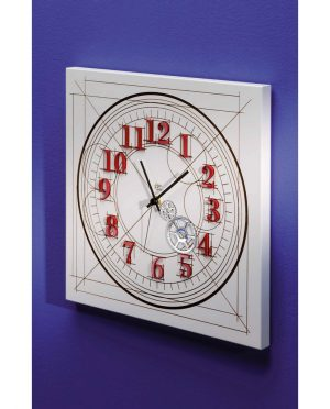 Orologio da parete numeri a rilievo