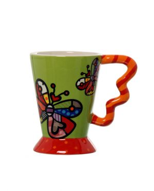 Mug Tazza Colorata Farfalla