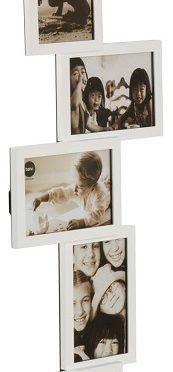 Porta foto multiplo 5 foto Bianco