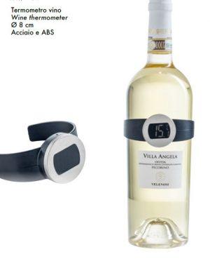 Termometro a orologio per vino