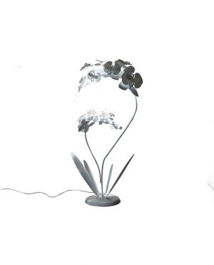 Lampada da terra pianta orchidea grande