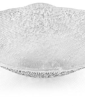 Centrotavola IVV vetro trasparente decorato  diamante