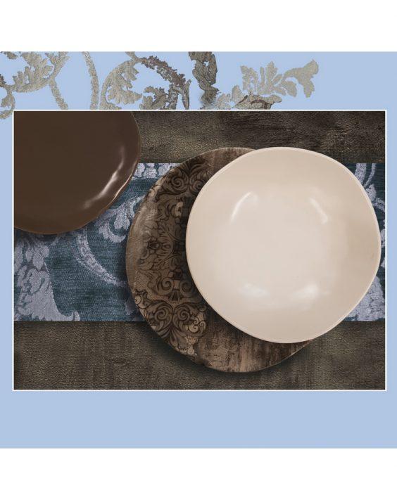 Servizio piatti per 6 persone Pompei