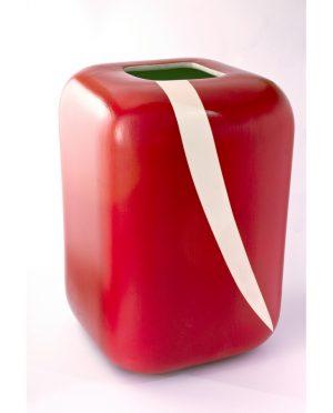 Vaso Ceramica Rosso