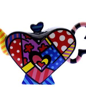 Teiera colorata cuore
