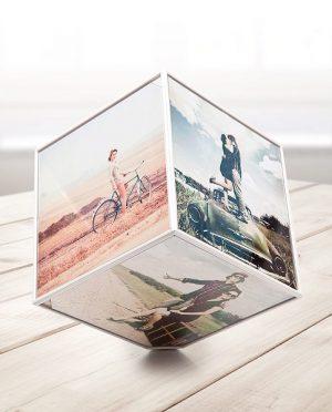 Cubo porta foto 10×10