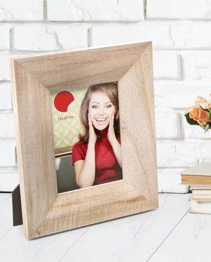 Porta foto Chicago legno rovere 13×18