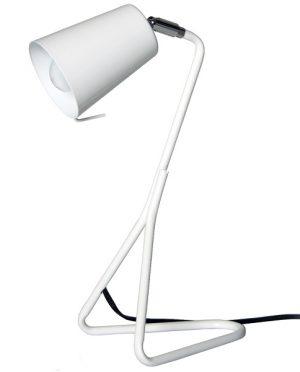 Lampada da tavolo Metallo bianca