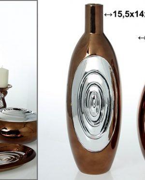 Lampada Bolle acciaio lucido