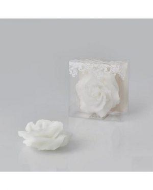 Candela Galleggiante Rosa Bianco d14 durata 13h