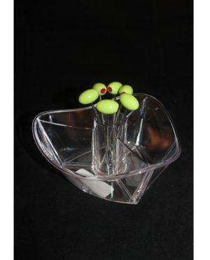 Ciotola antipasto plex con forhettine oliva