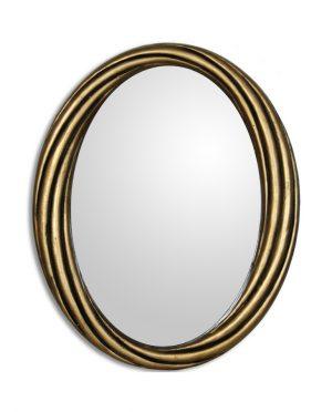 Specchio in legno colore Oro
