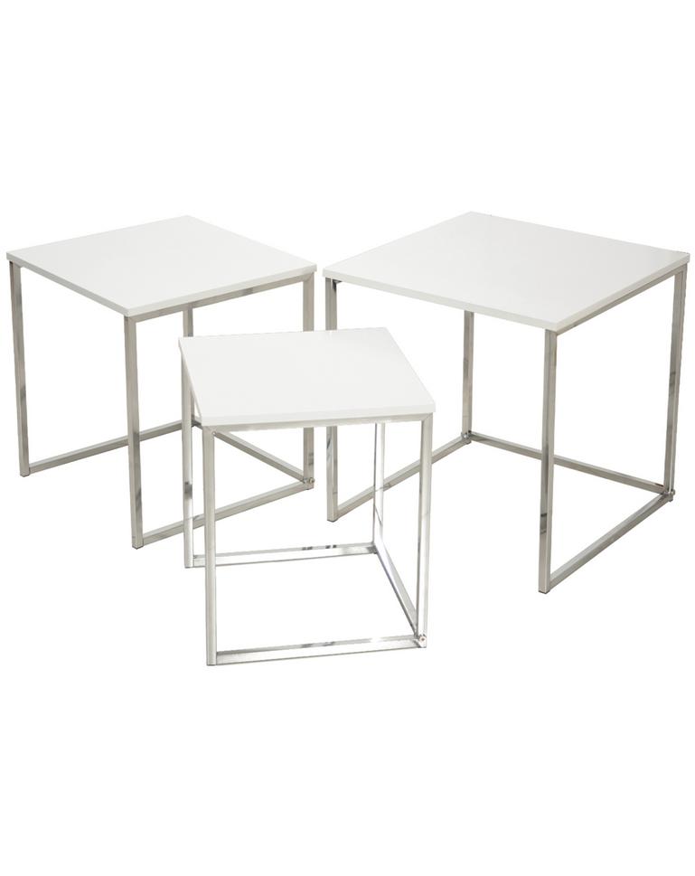 Tavolo basso quadrato Bianco - E20 D\'Arredo - Idee Arredamento a ...
