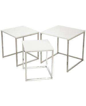 Tavolo basso quadrato Bianco