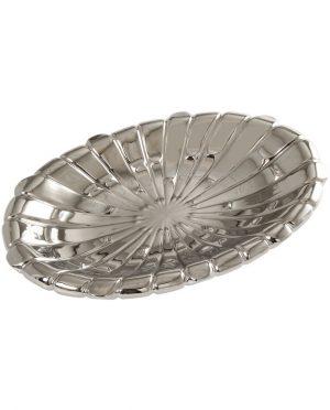 Centro Tavola Ceramica Argento