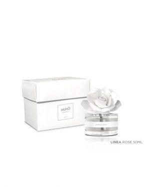 Profumatore Ambiente Rosa Bianca Acqua e Sale 50 ml