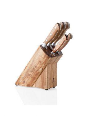 Ceppo Coltelli in legno di Acacia