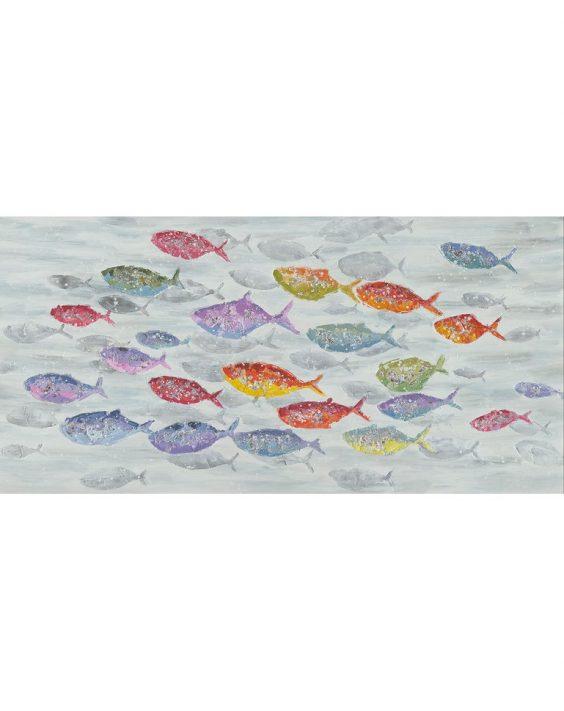 Quadro Pesci Colorati